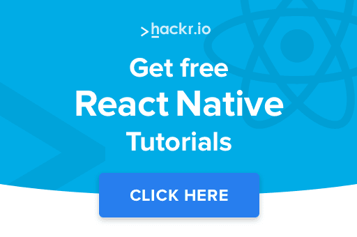 React Native tutorials