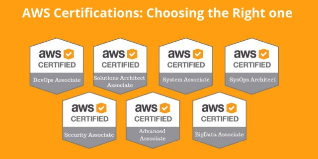 AWS Certifications: Choosing the Right one for You