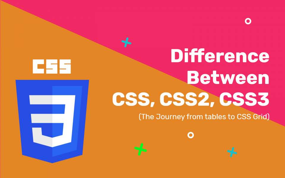 Difference Between CSS, CSS2 And CSS3