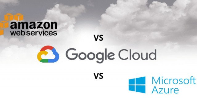 Google Cloud vs AWS vs Azure