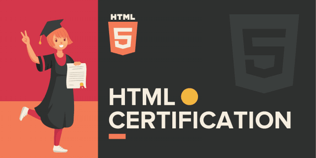 9 Best HTML Certifications to Become a Web Developer