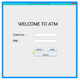 ATM Interface