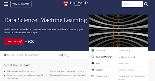Data Science: Machine Learning