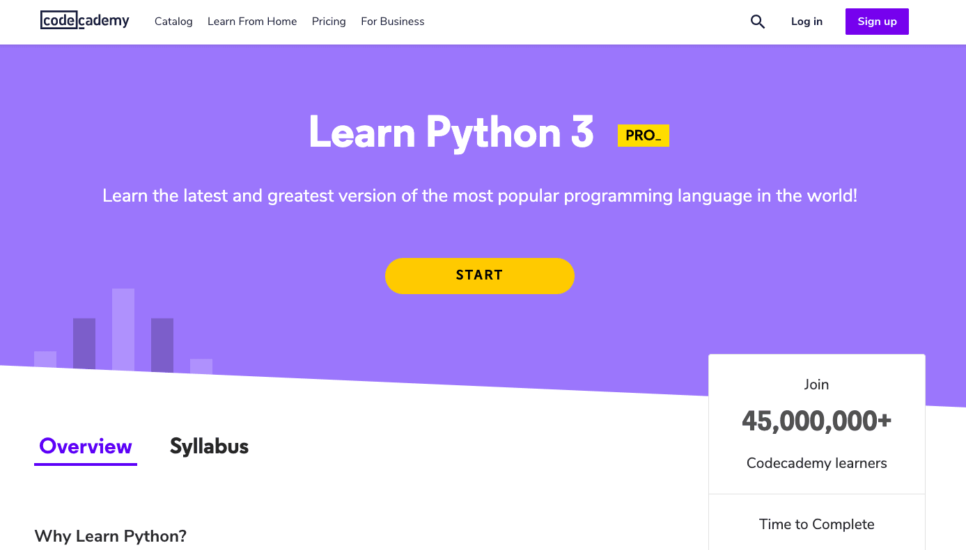Python 3 Tutorial from Codeacademy