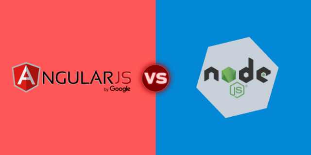NodeJS vs AngularJS: Differences you Should Know