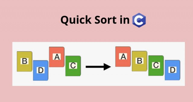 Quick Sort in C