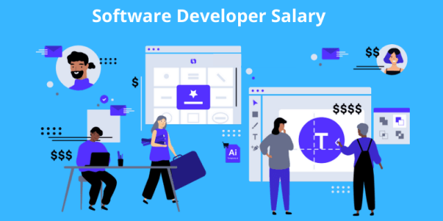 Software Developer Salary: Based on Different factors